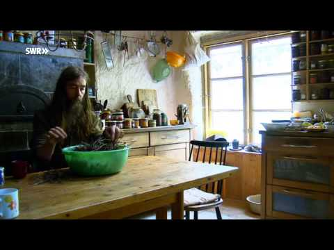 SWR Fernsehen RP Ein Leben im Wald: seit 20 Jahren ohne Strom und Wasser
