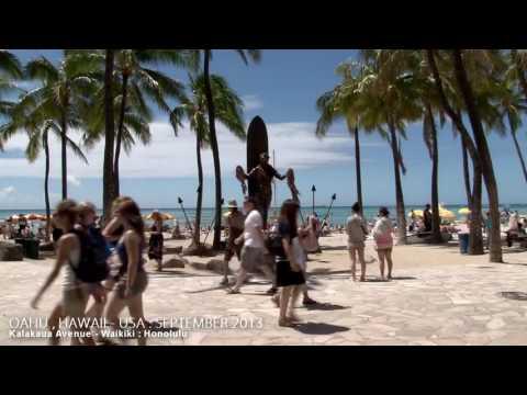 WAIKIKI   HONOLULU   OAHU   HAWAII , UNITED STATES   A TRAVEL TOUR   HD 1080P