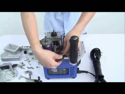 Masina pentru aplicat cant EBM 50 - mod de lucru si intretinere