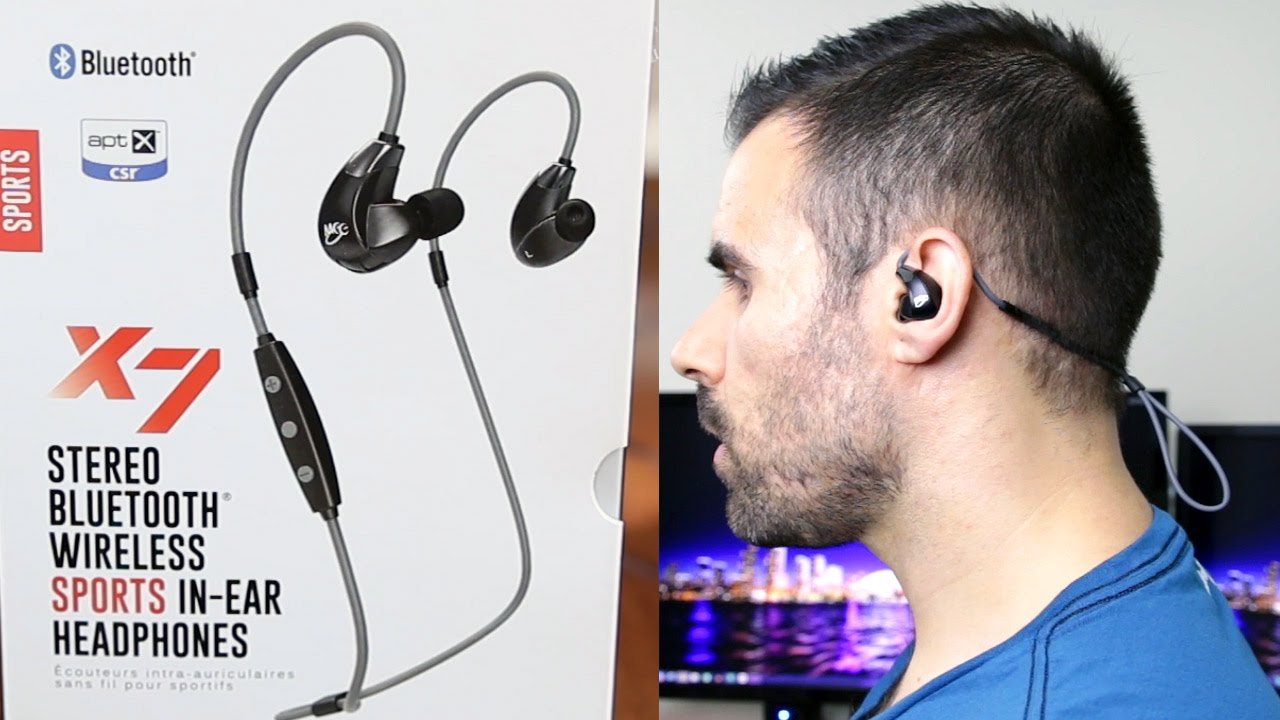 meelectronics sport fi x7 best priced wireless bluetooth earbuds for working out youtube. Black Bedroom Furniture Sets. Home Design Ideas