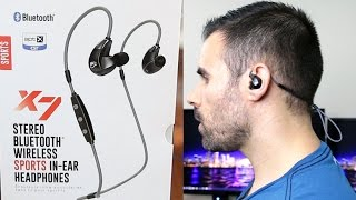 Video MEElectronics Sport-Fi X7: Best Priced Wireless Bluetooth Earbuds for Working Out! download MP3, 3GP, MP4, WEBM, AVI, FLV Juli 2018