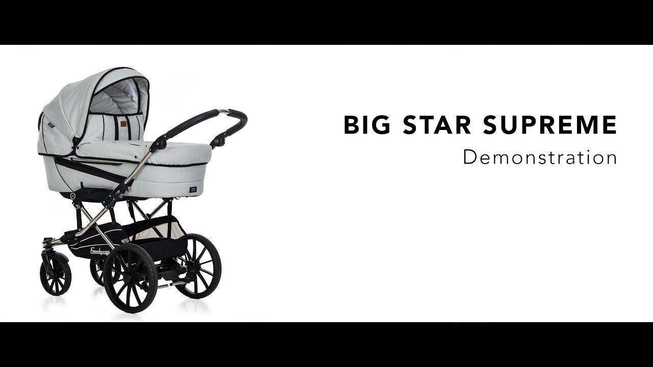 Efterstræbte Emmaljunga Big Star Supreme • Demonstration video (FULL UI-42