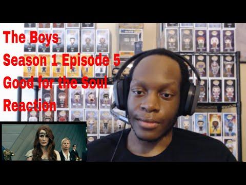 The Boys Season 1 Episode 5 Good for the Soul Reaction
