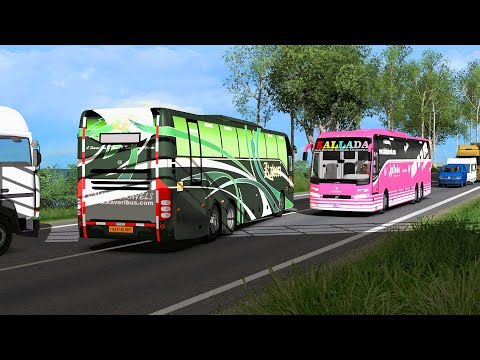 Bus Lovers In India [Do Not Miss This Game] Fulfill Your Driving Passion | Euro Truck Simulator 2