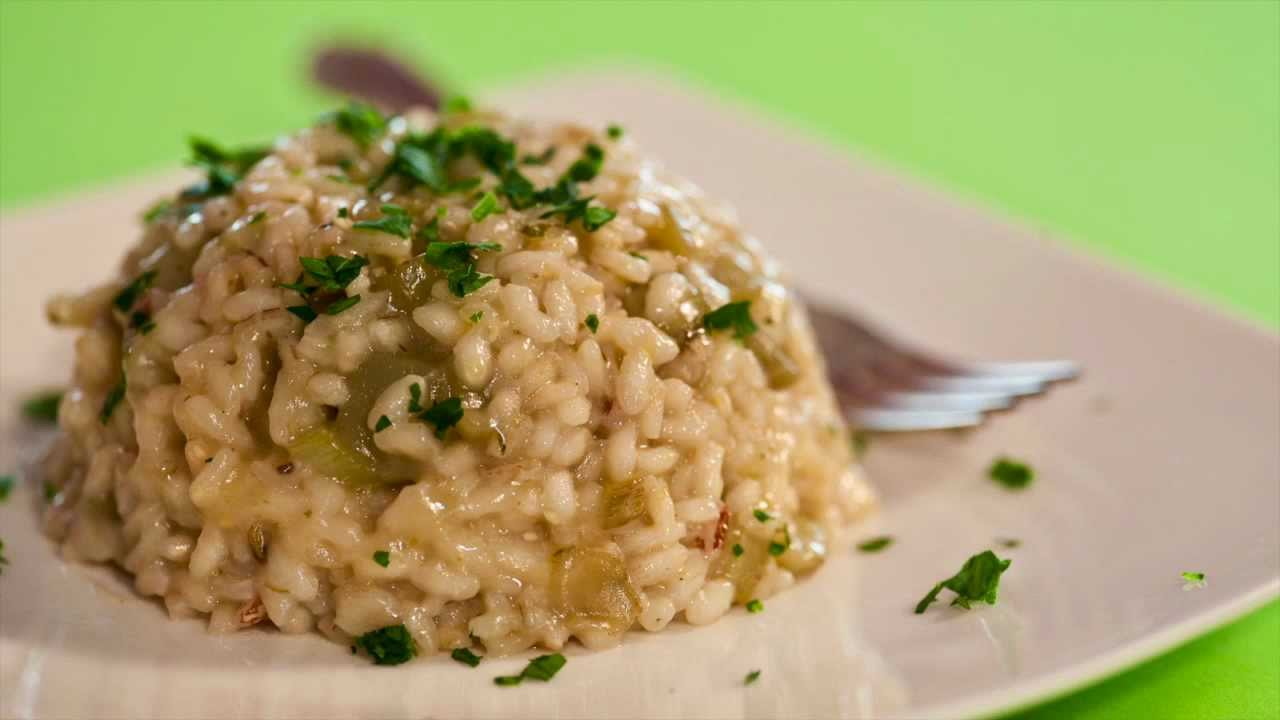 Risotto ai carciofi scappati di youtube for Carciofi ricette