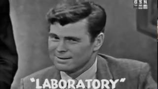 PASSWORD 1962-08-07 Carol Lawrence & Barry Nelson