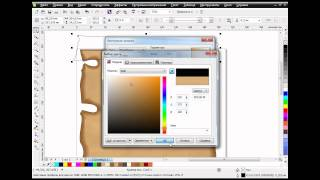 Как нарисовать свиток с заклинанием в CorelDRAW