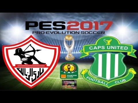 PS4 PES 2017 Gameplay Zamalek vs CAPS United HD