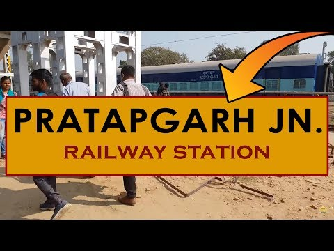 PBH, Pratapgarh Junction railway station, India in 4k ultra HD