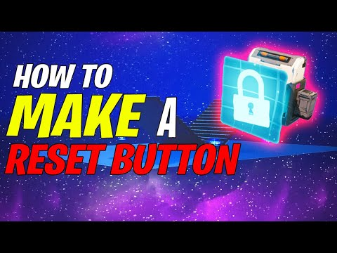 [CHECK PINNED COMMENT]1v1 Build Reset Button - EASY Tutorial - Fortnite Creative