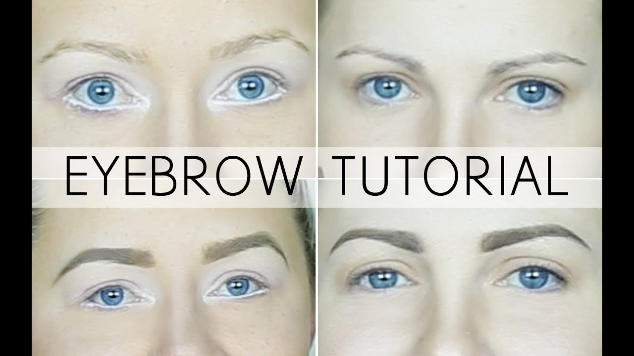 Abh eyebrow tutorial taupe and blonde youtube baditri Images