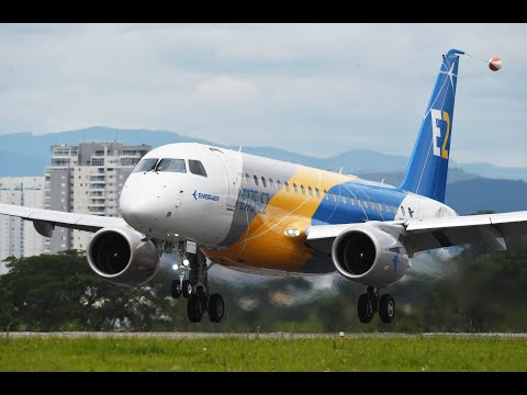 #Embraer #E175E2 Maiden Flight