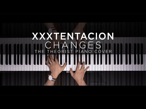 XXXTENTACION  Changes  The Theorist Piano