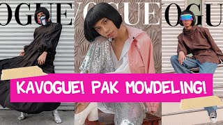 "D.I.Y VOGUE CHALLENGE WITH ""NEW NORMAL CLOTHING""!!! (AWRA PERO SAFELY)"