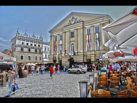 Lublin, Poland - connects the West with the East