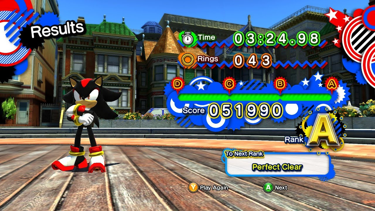 Sonic Generations Mod - Play as Shadow | GamersCast