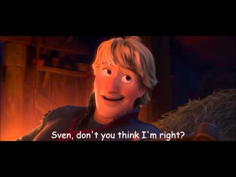 Frozen - Reindeers Are Better Than People Lyrics/ Sing-along