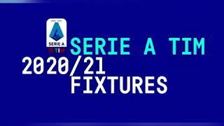 Calendario Serie a Tim 2020/21.