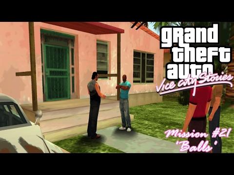 GTA: Vice City Stories (PSP Emu) Mission #21 - Balls