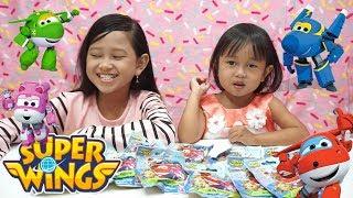 Jessica Jenica buka Super Wings Surprise 💖 Mainan Anak Mini Figure lucu imut imut 😘😘😘