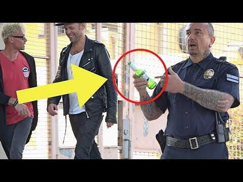 BEST STEALING Cop Keys Prank (NEVER DO THIS!!!) - POLICE SECURITY MAGIC PRANKS 2018
