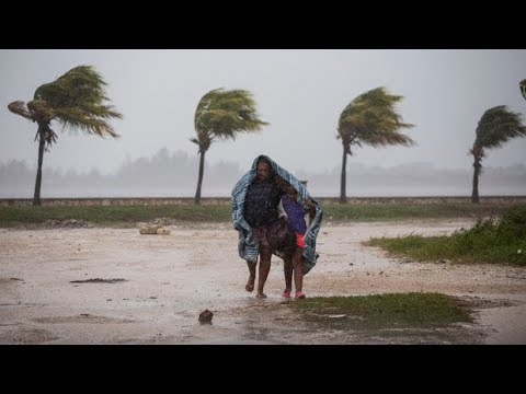 Hurricane Irma tears through Cuba, Caribbean