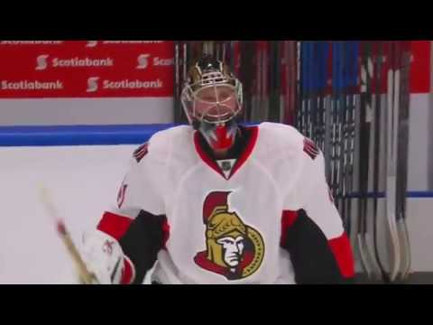 Craig Anderson emotional shutout win 10/30/16