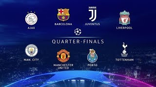 UCL Quarters Leg 2 Picks: City 3 Spurs 1, Juventus 2 Ajax 0, Barca 2 Man U 1, Liverpool 1 Porto 0!