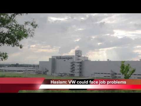Chattanooga VW plant could face job problems, governor warns