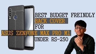Carefone back cover for Asus Zenfone Max Pro M1 - Unboxing & review in Hindi