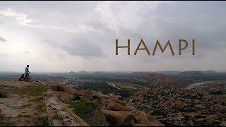 Hampi   Historic ruins   Rocky landscapes   Tungabhadra   Road Trip   GoPro Travel Movie (HD)