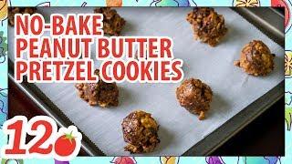 How to Make: No Bake Peanut Butter Pretzel Cookies