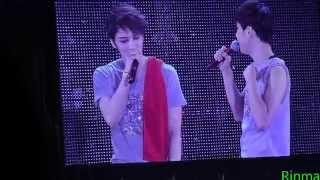 20141224 JYJ Japan Dome Tour in Fukuoka  Thanks To,Stand by U,どうして君を好きになってしまったんだろう