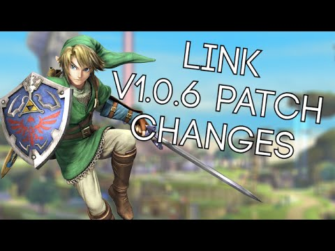 Link Patch Notes/Changes in Smash Wii U 1.0.6
