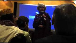 Betty Rose Addleton speaks at Sindhi Topi Ajrak Day in Atlanta, Ga December 5,2010
