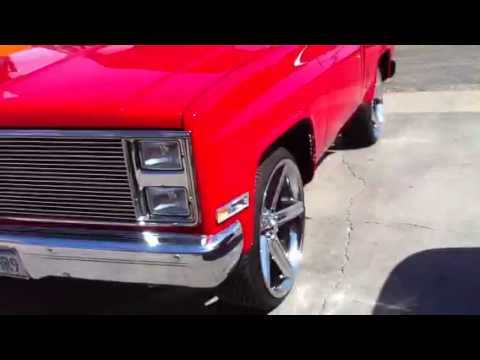 1984 Short Bed Chevy Silverado On 24 S Youtube