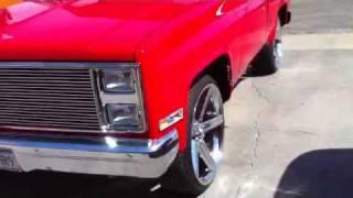 1984 Short Bed Chevy Silverado on 24's