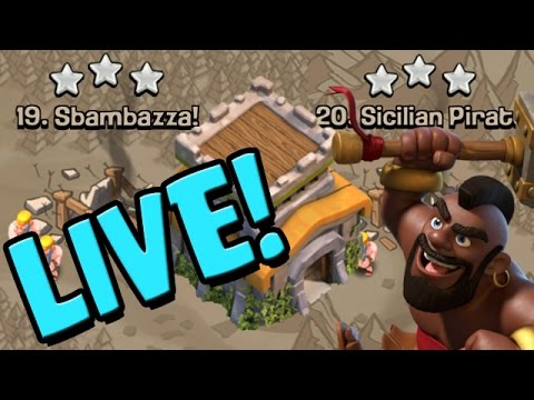 Clash of Clans: TH8 3 STAR LIVE WAR ATTACKS w/ Hogs