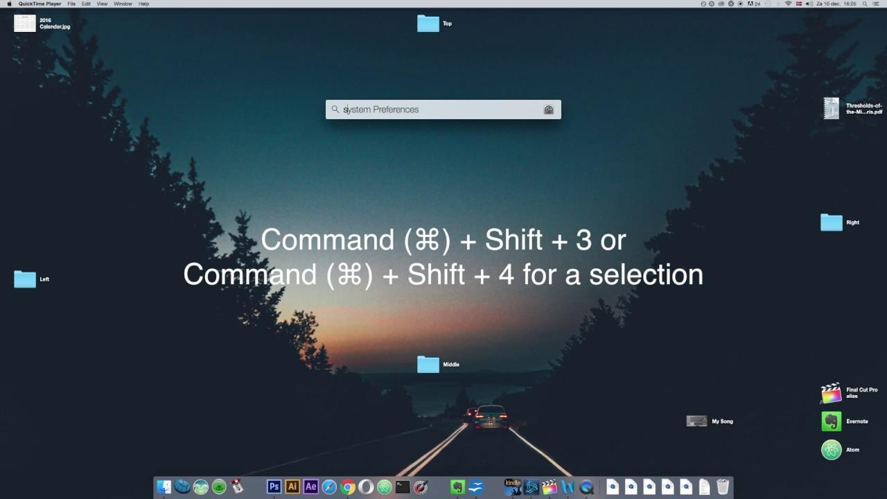 How To Change Screenshot Shortcuts On Mac