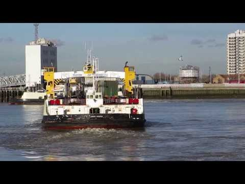 Woolwich Ferry Thames London