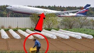 Volevano demolire la sua casa per fare un aeroporto,ma questo contadino guardate cosa fece!