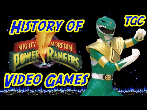 History of Power Rangers Video Games: Mighty Morphin' | GEEK CRITIQUE