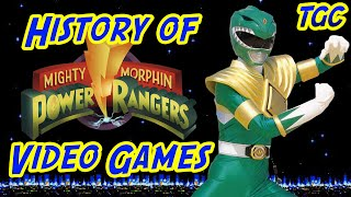 History of Power Rangers Video Games: Mighty Morphin