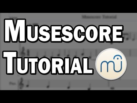 Musescore Tutorial - Free Sheet Music with Musescore - YouTube