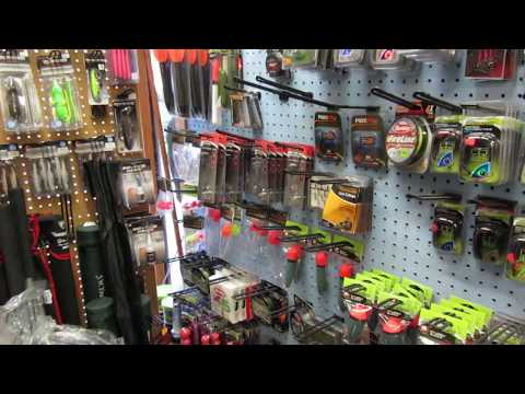 EASY FISHING. A Quick Tour Of My Local Tackle Shop.
