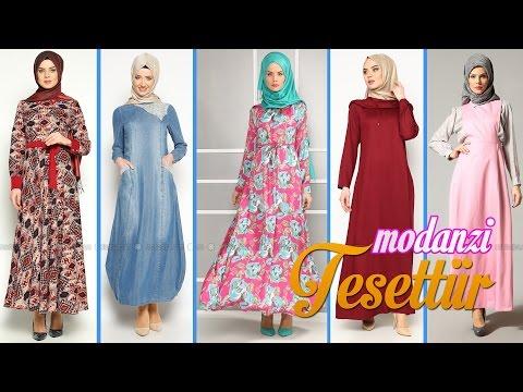 07eceee4265ea Modanisa 2016 İlkbahar / Yaz Tesettür Elbise Modelleri Video Galeri 3/5 | #Tesettür  Elbise Modelleri - YouTube