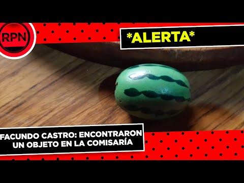 Encontraron un objeto perteneciente a Facundo Castro en la Comisaría de Origone