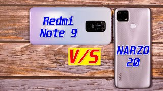 Narzo 20 vs Redmi Note 9 FULL Comparison | Camera Test | Speed Test | Pros & Cons [Hindi]