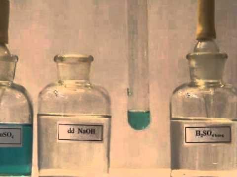 Thí nghiệm H2SO4 + CuOH2