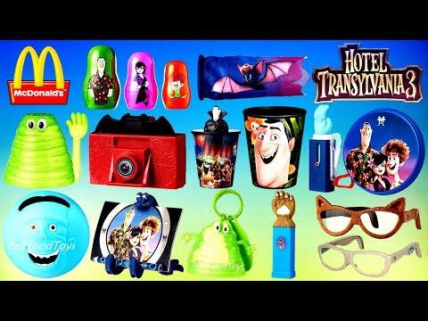 New Next 2018 McDonalds Hotel Transylvania 3 Happy Meal Toys Full Set 10 Disney Frozen Kinder Surprise Egg World Of 14 Kids Asia Europe